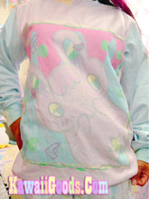 Load image into Gallery viewer, Pastel Killer Bunny Warrior Sweater (Made to Order)