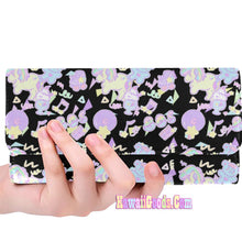 Load image into Gallery viewer, Sweetie Dreams and Trixie 80s Parfait Fairykei Yume Kawaii Pastel Wallet (Made to Order)