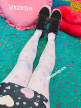 Load image into Gallery viewer, Starry Dreamy Tights, Fairy Kei Tights (Made to Order)