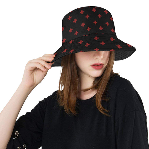 Yami Kawaii Cross Menhera Hat (Made to Order)