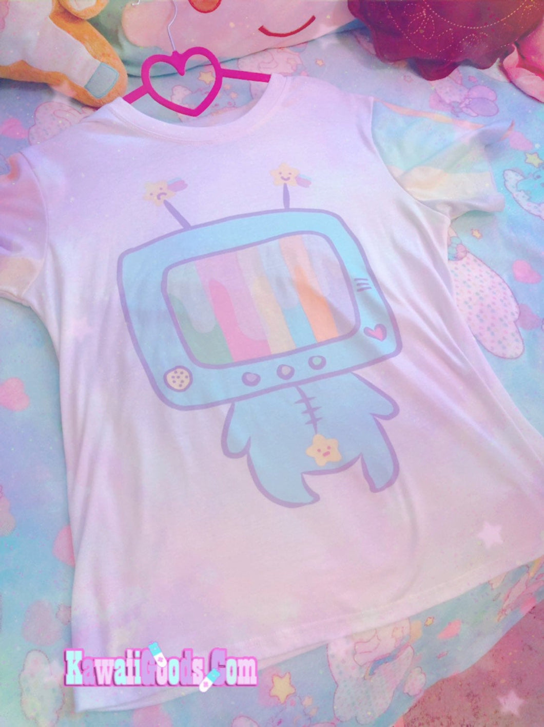 Kikko TV Out of Service Pastel Yume Kawaii Top (Made to Order)