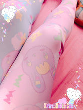 Load image into Gallery viewer, Warrior Killer Cuties Bunny and Bear Yume Kawaii  Leggings (Made to Order)
