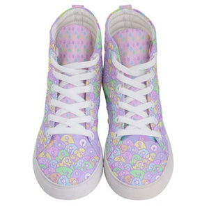 Copy of Alien Ice Cream Scoop Monster Party Shoes, Fairy Kei Shoes  Womens  (Made to Order)
