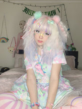 Load image into Gallery viewer, Alien Cutie Reba the alien and Kikko TV Dress (Made to Order)
