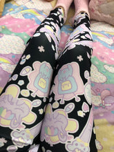 Load image into Gallery viewer, Hurt Bunny Bear Nurse Death Yami Kawaii leggings (Made to Order)