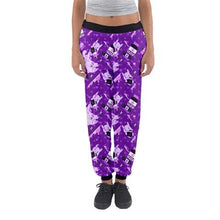 Load image into Gallery viewer, Yami Kawaii Painfully Hurt Abby Bunny Jogger pants HURT (Made to Order)