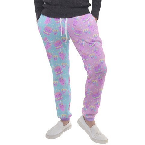 Dreamy Alien Junk Food Party Kawaii jogger pants ver.2 (Made to Order)