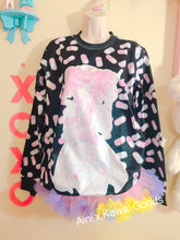 Load image into Gallery viewer, Manic Nurse and Hurt Bunny Aini x Kawaii Goods Collab Sweater (Made to Order)