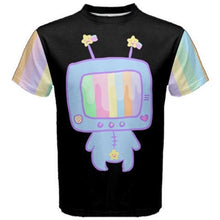 Load image into Gallery viewer, Kikko TV Out of Service Pastel Yume Kawaii Top (Made to Order)