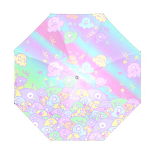 Load image into Gallery viewer, Ice Cream Scoop Alien Monsters Umbrella (Made to Order)