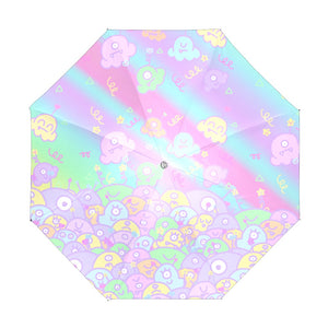 Ice Cream Scoop Alien Monsters Umbrella (Made to Order)