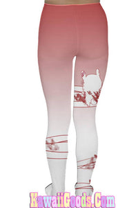 Guro Kawa Painfully Hurt Abby Bunny Bandage Tights  (made to order)