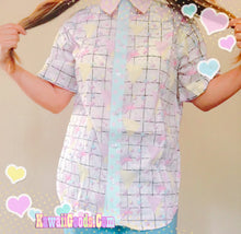 Load image into Gallery viewer, Pop kei Fairykei Short Sleeve Blouse (Made to Order)