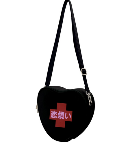 Yami Kawaii Love Sick Nurse Heart Shape Bag