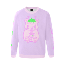 Load image into Gallery viewer, Yami Kawaii Ichigo Strawberry Milk Bear Strawbeary Sweater (Made to Order)