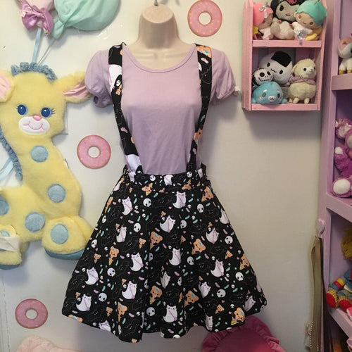 Halloween Sweets Suspender Skirt (Made to Order)