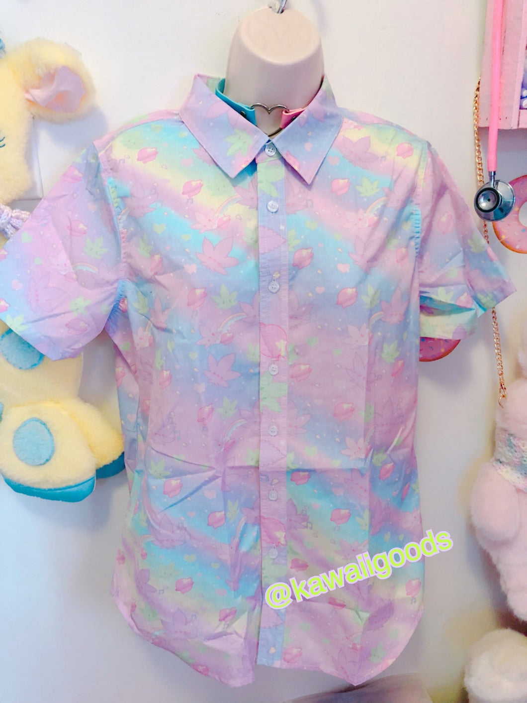 Kush-chan GiggleTree MJ Blouse Unisex (Made to Order)