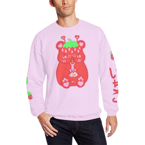 Yami Kawaii Ichigo Strawberry Milk Bear Strawbeary Sweater (Made to Order)