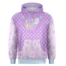 Load image into Gallery viewer, Hurt Bunny Nurse Bear Death Yami Kawaii Sweater (Made to Order)