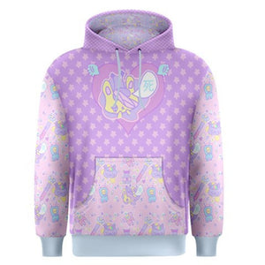Hurt Bunny Nurse Bear Death Yami Kawaii Sweater (Made to Order)