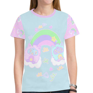 Rainbow Furbies Confetti Party Top (Made to Order)