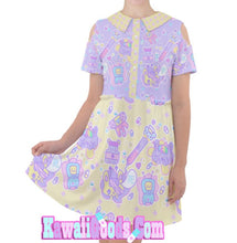 Load image into Gallery viewer, Hurt Bunny Nurse Bear Death Yami Kawaii medical Dress (Made to Order)