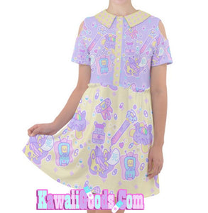 Hurt Bunny Nurse Bear Death Yami Kawaii medical Dress (Made to Order)