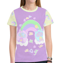 Load image into Gallery viewer, Rainbow Furbies Confetti Party Top (Made to Order)