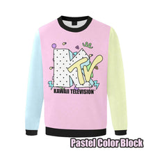 Load image into Gallery viewer, KTV KAWAII TELEVISION Sweater (Made to Order)