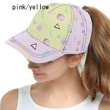 Load image into Gallery viewer, Geometric Inspired Barbie 80s Yume Kawaii Fairykei Hat (Made to Order)