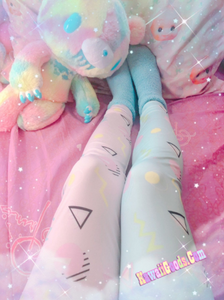 Geometric Inspired Barbie Yume Kawaii Leggings (Made to Order)