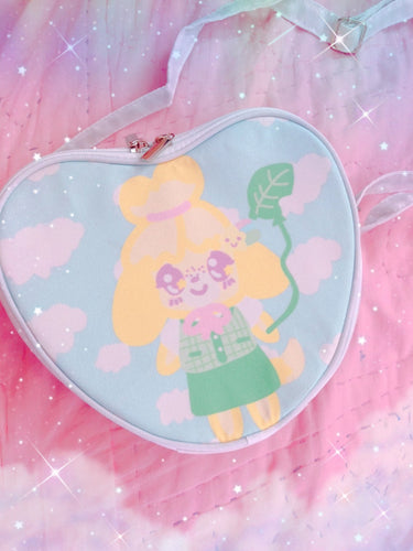 Animal Crossing Isabelle Heart Bag (Made to Order)