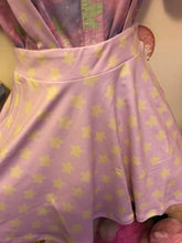 Load image into Gallery viewer, Starry Pastel Yume Kawaii Suspender Skirt (made to order)