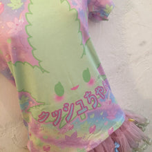 Load image into Gallery viewer, Kush-chan GiggleTree MJ Tee Top (Made to Order)