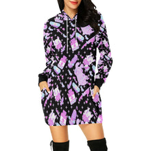 Load image into Gallery viewer, Hurt Bunny Yami Kawaii Menhera Hoodie Dress (Made To Order)