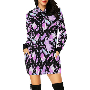 Hurt Bunny Yami Kawaii Menhera Hoodie Dress (Made To Order)