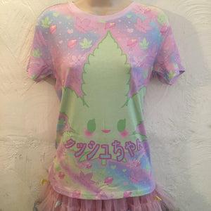 Kush-chan GiggleTree MJ Tee Top (Made to Order)