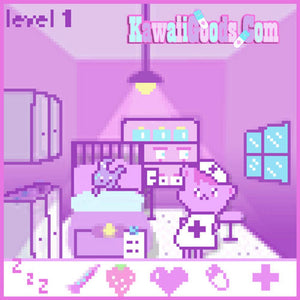 Yami Kawaii Nurse Bear Video Game Pixel Menhera Sweater (Made to Order)