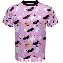 Load image into Gallery viewer, Halloween Sweets Shirt, Bat Tee (Made to Order)