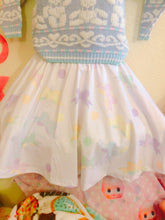Load image into Gallery viewer, Kawaii Pastel Bows Skirt (Made to Order)