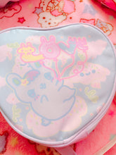 Load image into Gallery viewer, LOVE Balloons Bunny Heart bag
