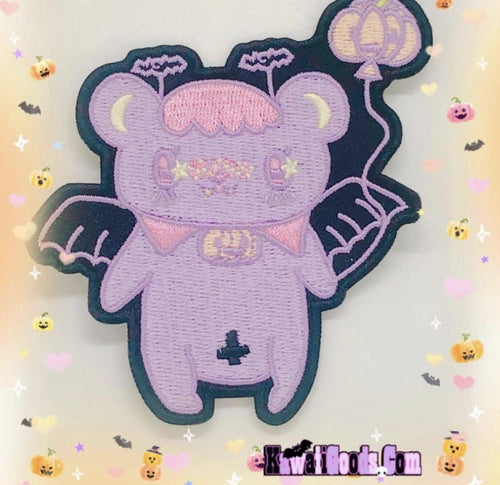 Vampire Alien Bear patch