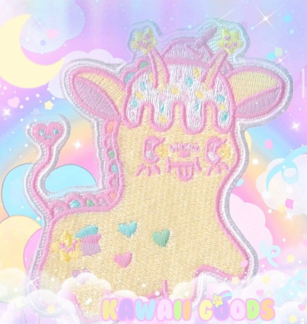 Alien Giraffe Patch