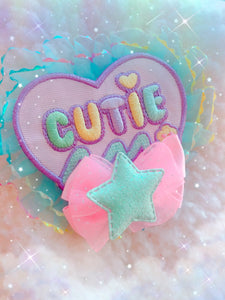 Cutie Heart 2-way clip
