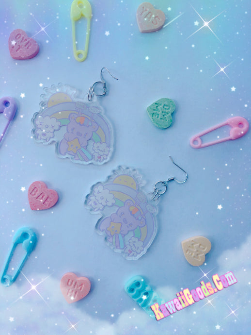 Emotion Bear Yume Kawaii Earrings