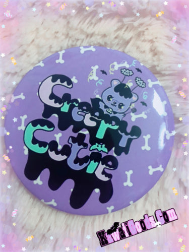 Creepy Cutie Button
