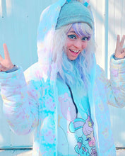 Load image into Gallery viewer, Dreamy Bunny Cutie Puffy Jacket (made to order)
