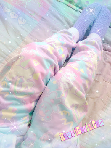 Sweetie Dreams and Trixie 80s Yume Kawaii joggers (Made to Order)