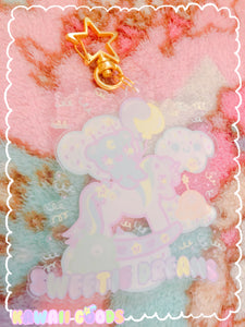 Sweetie Dreams and Trixie  Keychain