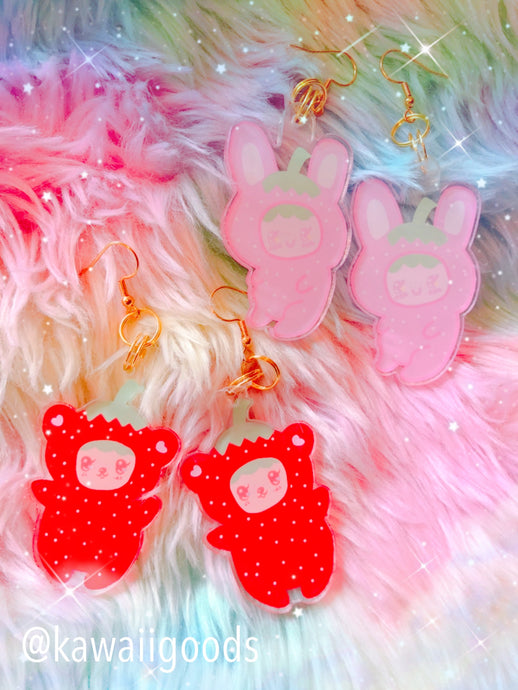 Strawberry Cuties Earrings
